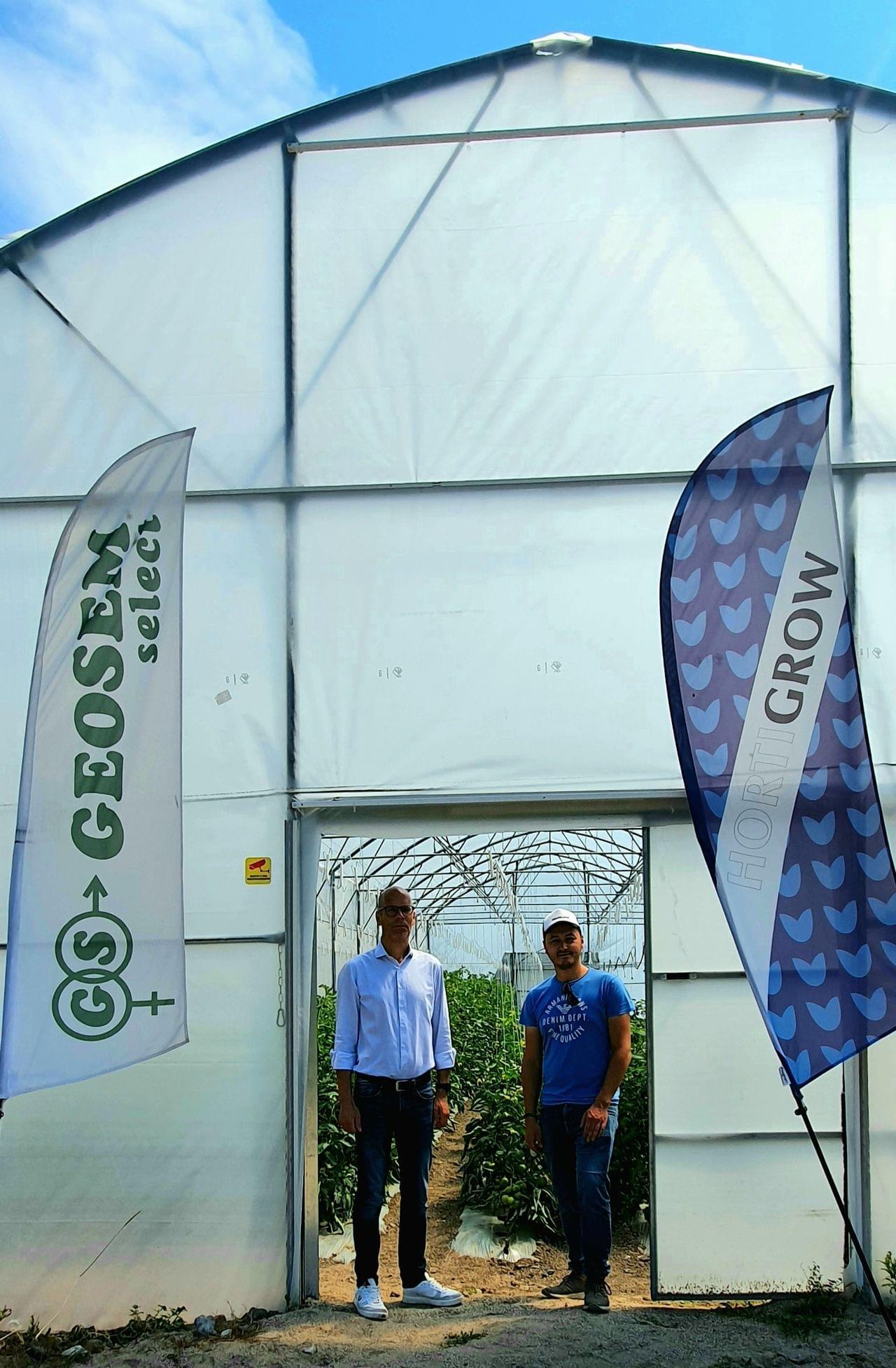 Visit to Geosem Select, Hortiland's distributor in Bulgaria.